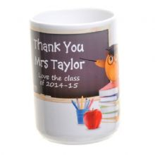 Teacher Owl Ceramic Mug - Personalised Teacher Thank You Gift